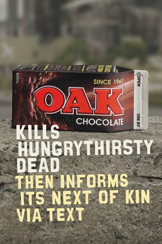 Oak Kills Hungry Thirsty Dead then informs next of kin via text