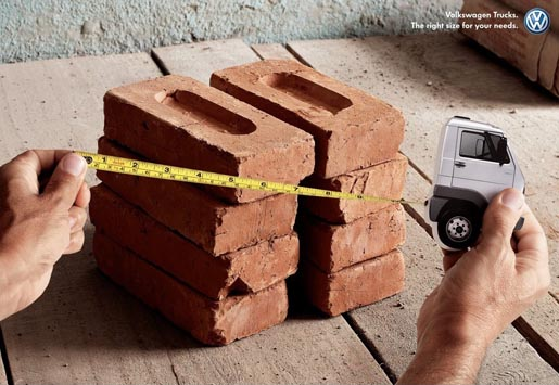 Volkswagen Truck for Bricks