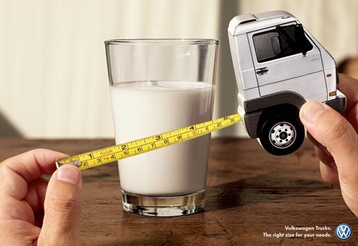 Volkswagen Truck for Milk