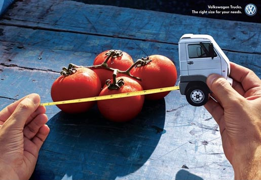 Volkswagen Truck for Tomatoes