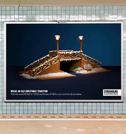 Stockholms Stadmission Bridge ad