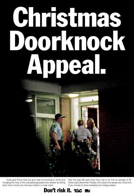 TAC Christmas Doorknock Appeal