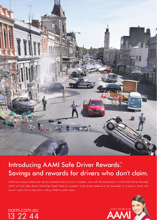 AAMI rewards good drivers