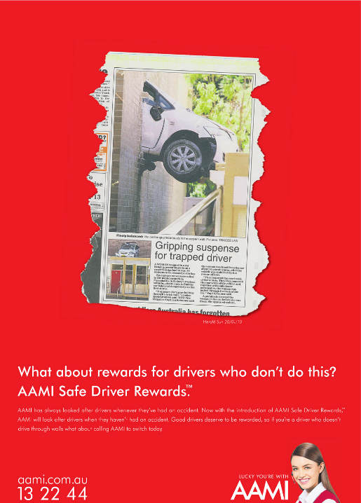AAMI rewards safe drivers