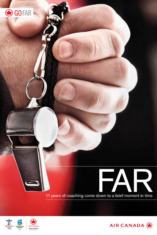 Air Canada Go Far Coach print advertisement