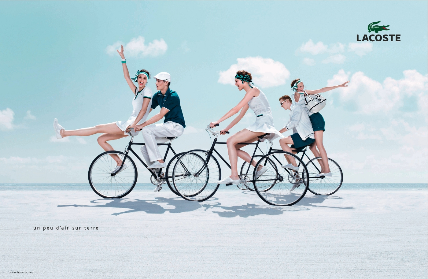 Lacoste An Incredibly Light Summer The Inspiration Room