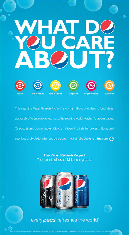 Pepsi What Do You Care About?