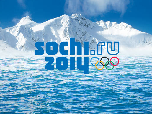 Sochi 2014 Brand Mountains