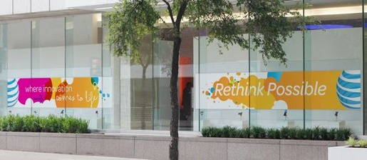 AT&T Rethink Possible branding