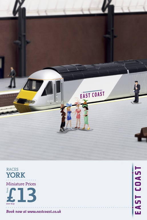 East Coast Trains Miniatures Racing Ladies