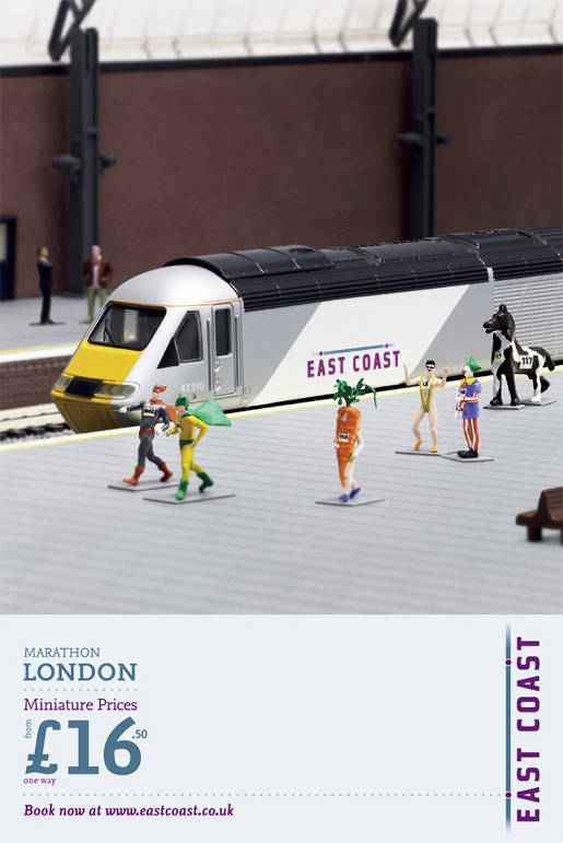 East Coast Trains Miniatures Runners