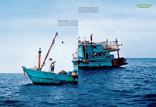 Greenpeace Sea Level magazine