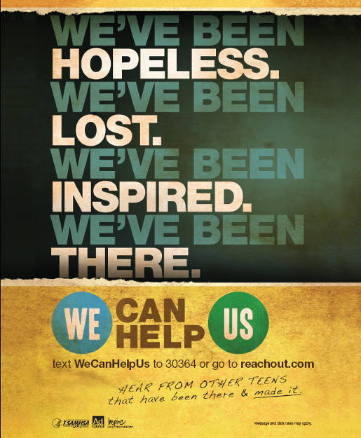 We Can Help Us print ad