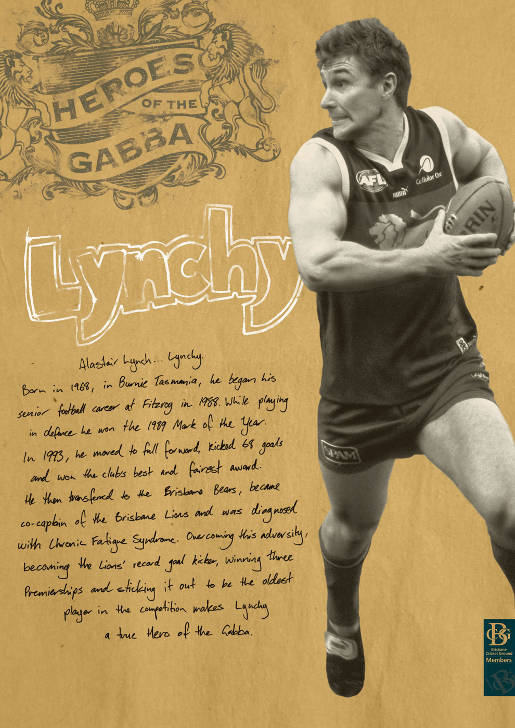 The Gabba Alistair Lynch