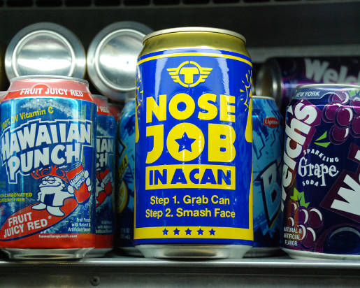 Nose Job in a Can