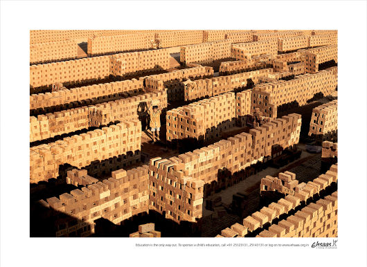 Ehsaas Bricks print advertisement