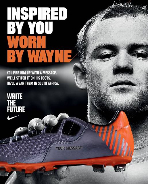 Wayne Rooney Message from Nike
