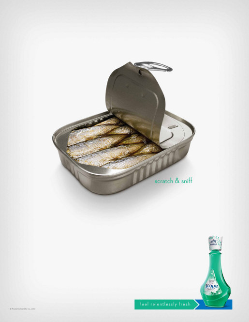 Scope Relentlessly Fresh Sardines