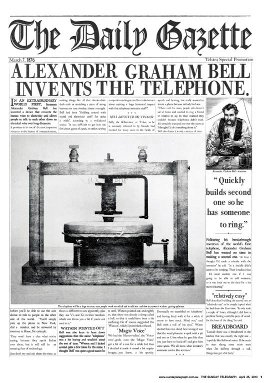 Telstra T-Hub and  Alexander Graham Bell Gazette