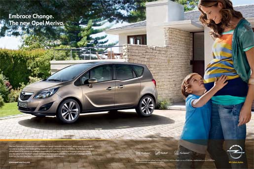 Opel Meriva Embrace Change - Pregnancy