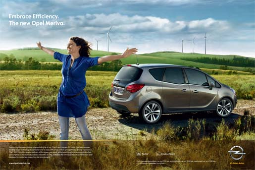 Opel Meriva Embrace Efficiency