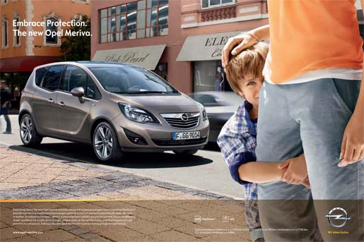 Opel Meriva Embrace Protection