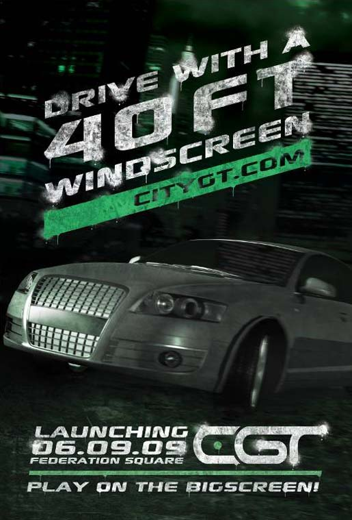 VicRoads CityGT poster 40 Foot Windscreen