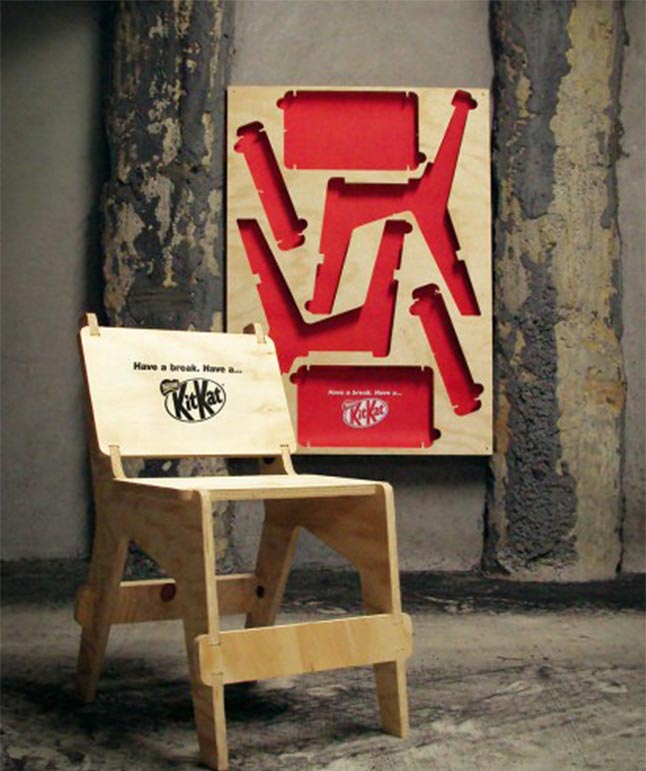 Kit Kat Chair Poster