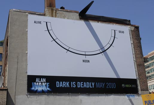 Alan White Dark is Deadly Sun Dial