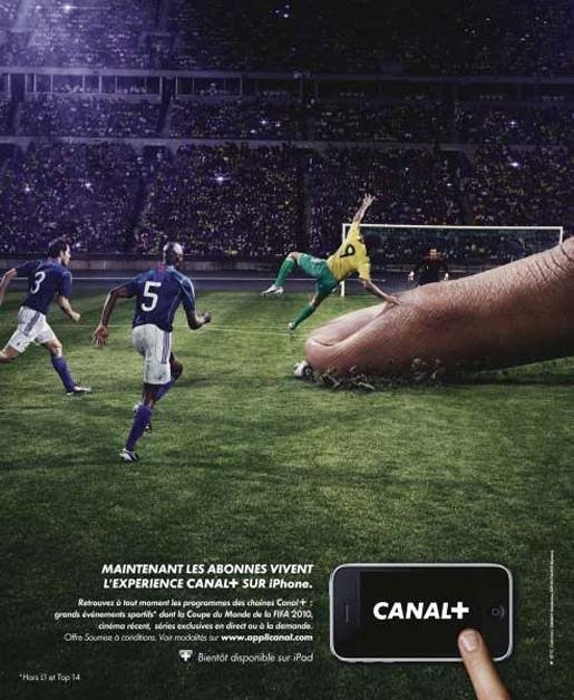 Canal Plus La Bascule Football