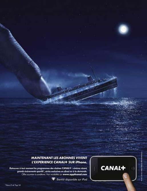 Canal Plus La Bascule Ship