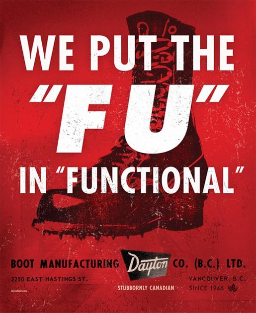 Dayton Boots FU in Functional