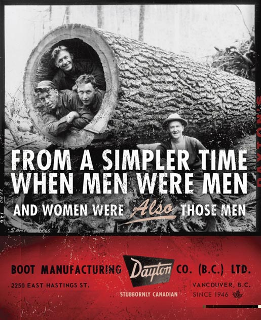 Dayton Boots Men were Men