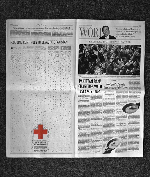 Red Cross Pakistan Flooding in National Post