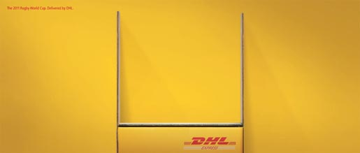 DHL Rugby World Cup print ad