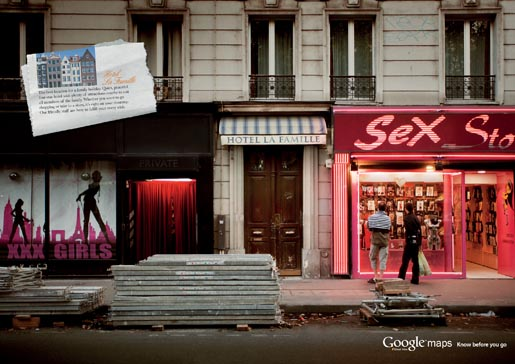 Google Street View Russia - Sex Shop