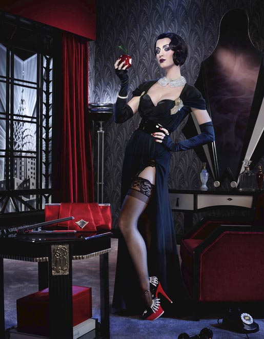 Katy Perry GHD Snow White print advertisement