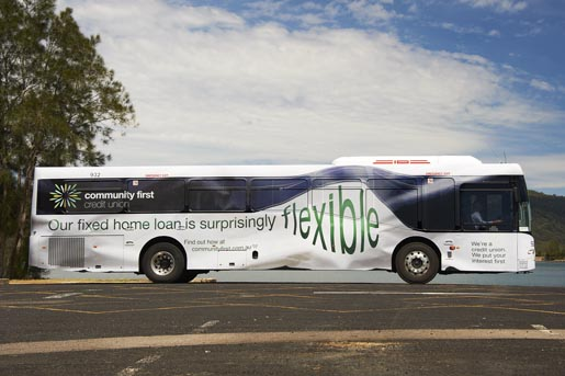 Community First Flexible Bus