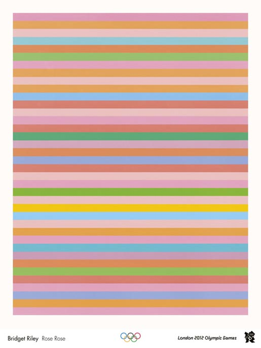 Bridget Riley - Rose Rose