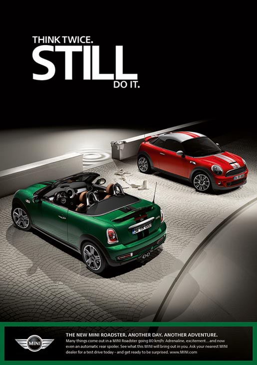 Mini Roadster print ad - Still Do
