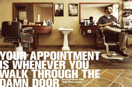 Universal Barber Shop Appointment