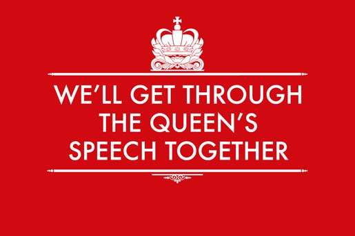 Christmas Card - The Queens Speech