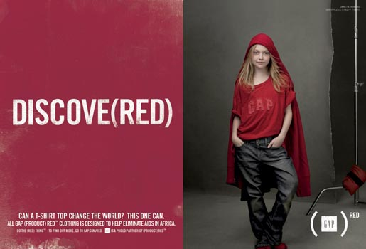 Gap Do The Red Thing - Dakota Fanning Discove(red)