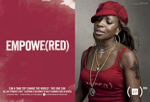 Gap Do The Red Thing - Mary J Blige Empowe(red)