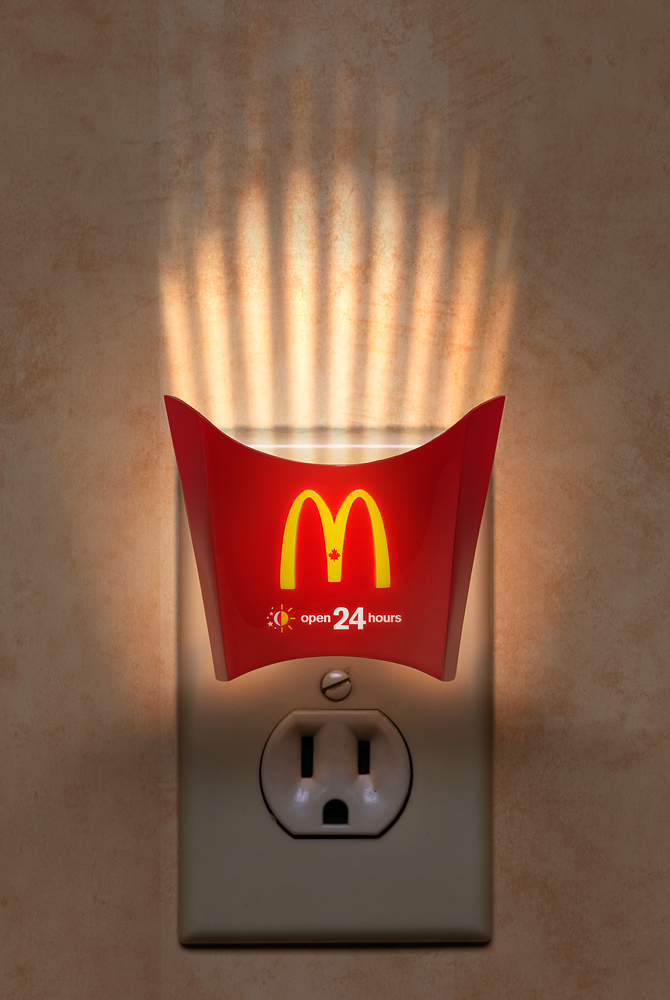Mcdonalds Night Light The Inspiration Room