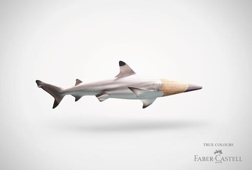 Faber Castell Shark Pencil