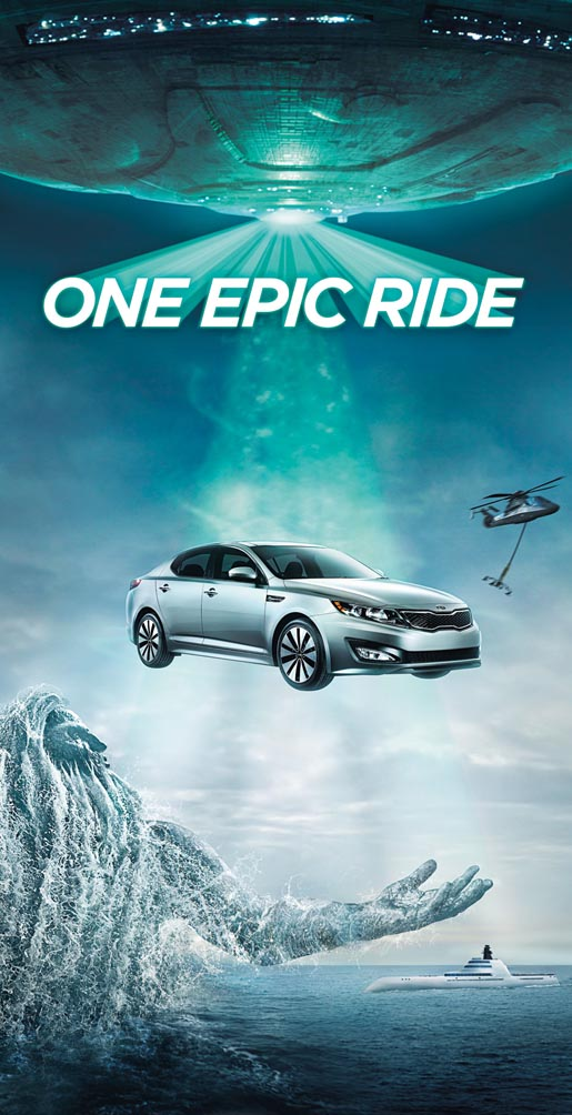 Kia One Epic Poster