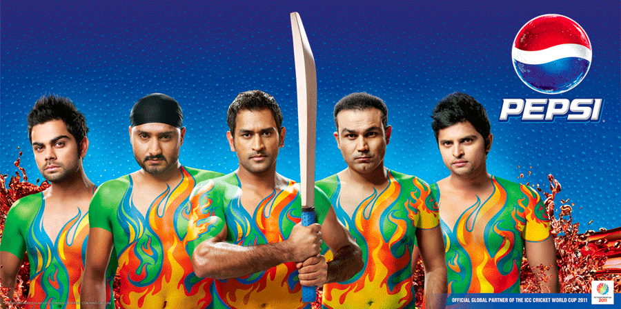 pepsi change the game of world cup cricket the inspiration room