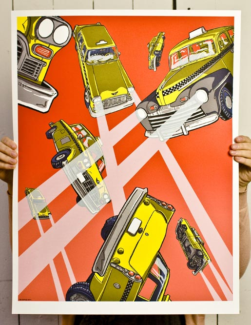HP Taxi Magic Poster