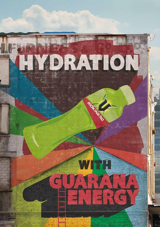 V Pomparkour Hydration Wall